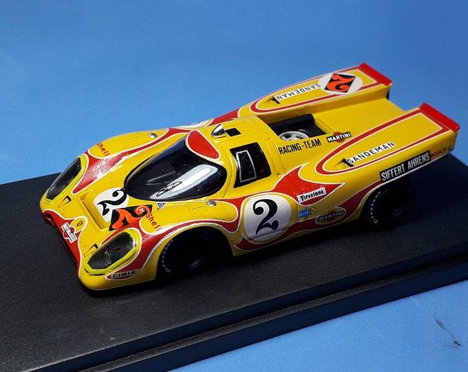 Porsche 917K Martini Kyalami 9 hours 1970 Ahrens/Siffert REMEMBER Models 1:43 factory built