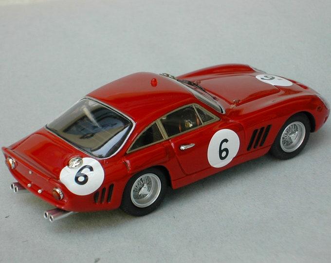 Ferrari 330 LMB 4725SA Maranello Concessionaires Guards Trophy Brands Hatch 1963 #6 Bandini Remember Models kit 1:43