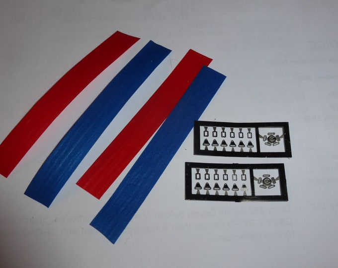 Pack of seatbelts with photoetched parts for racing cars 1:43 Remember SP71
