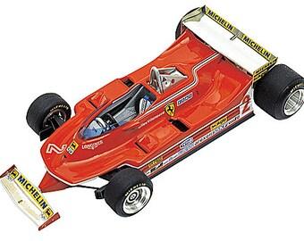 Ferrari 312 T5 F.1 Monaco GP 1980 Scheckter or Villeneuve TAMEO Kits TMK266 1:43