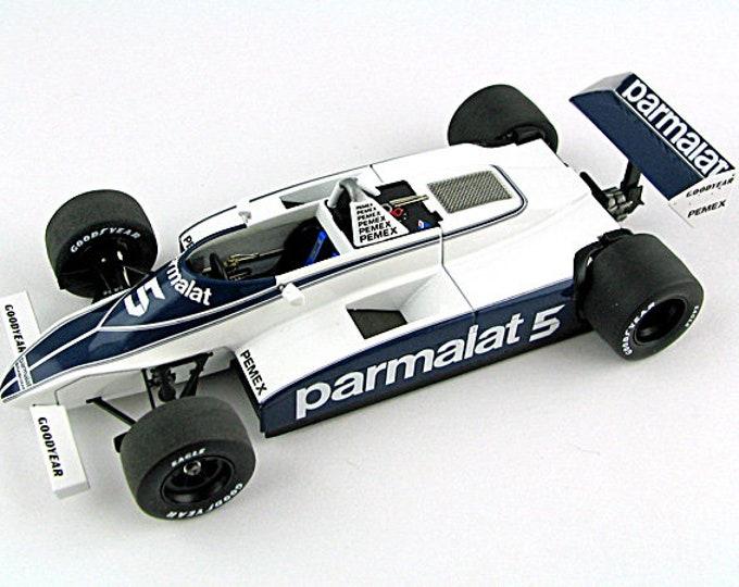 Brabham Cosworth BT49C F.1 German GP 1981 Piquet TAMEO Kits SLK067 1:43