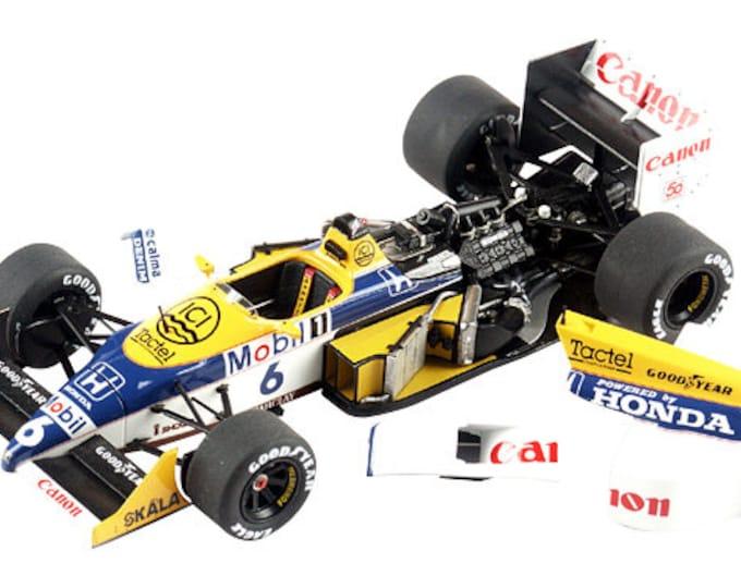 Williams Honda FW11B F.1 Hungarian GP 1987 Piquet or Mansell TAMEO Kits WCT-087 1:43