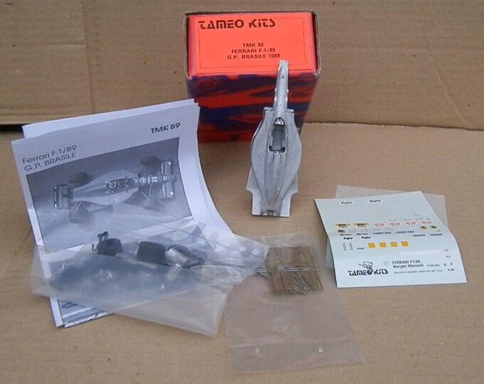 Ferrari F1/89 Formula 1 Brazilian GP 1989 Mansell / Berger Tameo Kits TMK89 1:43