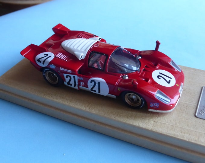 Ferrari 512S 12 hours Sebring 1970 winner Giunti/Vaccarella/Andretti Madyero by Remember 1:43 KIT