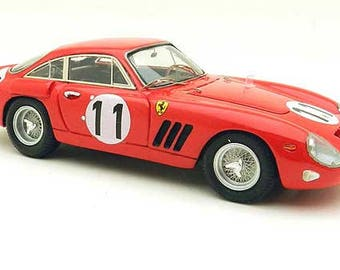 Ferrari 330 LMB 4453GT NART Le Mans 1963 #11 Gurney/Hall Remember Models kit 1:43