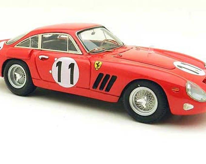 Ferrari 330 LMB 4453GT NART Le Mans 1963 #11 Gurney/Hall Remember Models kit 1:43