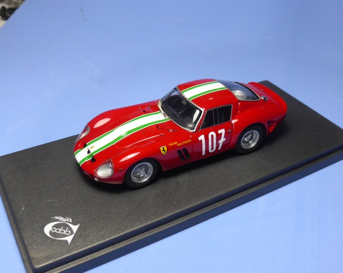 Ferrari 250 GTO 3909GT 1000km Tirol GP Innsbruck 1962 winner #107 Kalman Von Csazy 1:43 Remember Models factory built