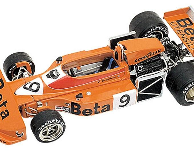 March Ford Cosworth 761 F.1 Monaco GP 1976 Vittorio Brambilla TAMEO Kits TMK235 1:43
