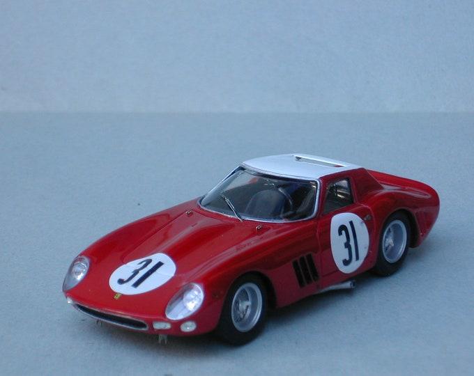 Ferrari 250 GTO 5573GT NART 12h Sebring 1964 #31 Guichet/Abate Remember Models KIT 1:43