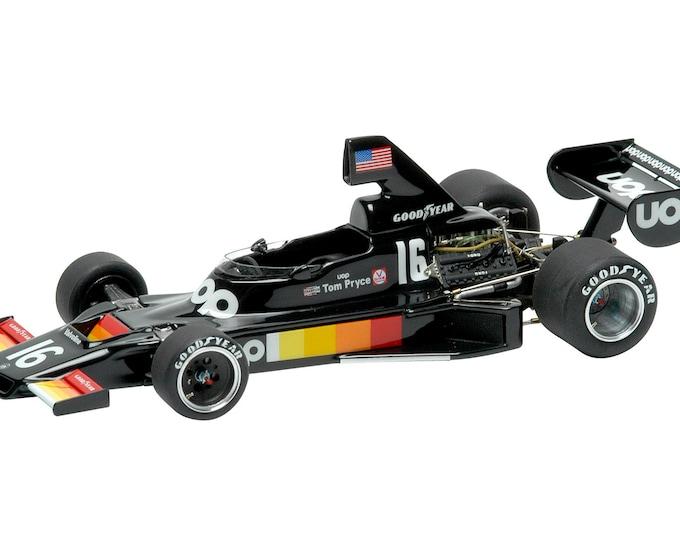 Shadow Cosworth DN5 Formula 1 Italian GP 1975 Pryce or Jarier TAMEO Kits SLK017 1:43
