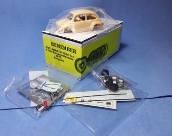 Fiat Abarth 1000TCR Bolzano-Mendola 1972 #198 Rino Amighini (grey-yellow car) Remember Models KIT 1:43