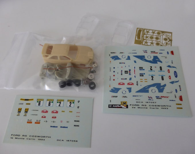 Ford Escort RS Cosworth Rally Monte Carlo 1993/1994 Le Mans Miniatures kit 1:87 187058