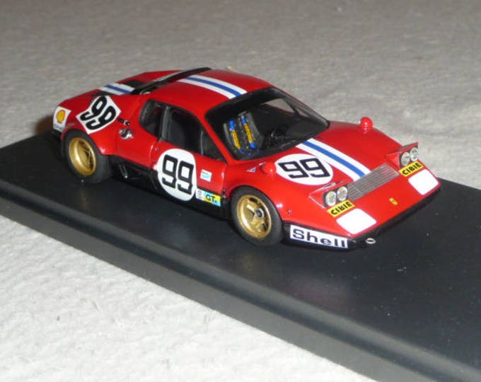 Ferrari 365 GT4/BB NART Le Mans 1975 #99 REMEMBER kit 1:43