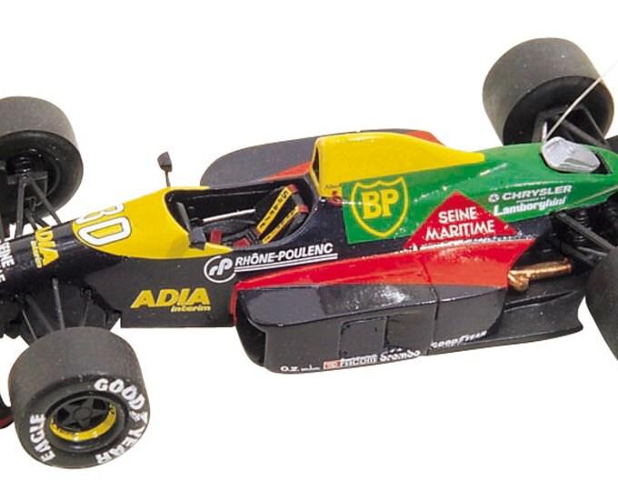 Lola Lamborghini LC89 F.1 San Marino GP 1989 Alliot or Dalmas Tameo Kits TMK096 1:43