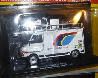 Citroen C35 Van Team Peugeot Talbot Sport Rally assistance - Die cast model 1:43 - Brand new in box