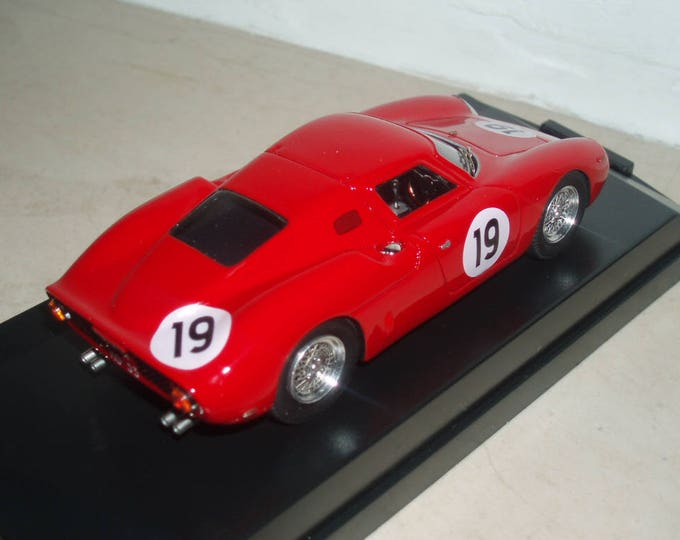 Ferrari 250 LM special configuration Le Mans 1964 tests #19 REMEMBER kit 1:43