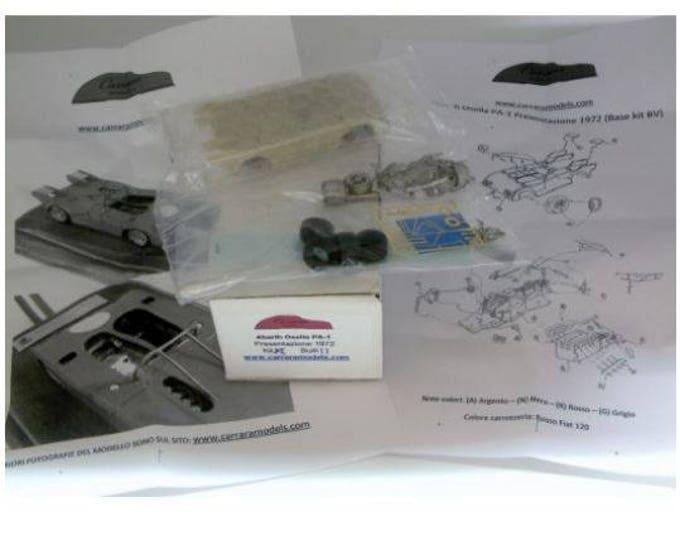 Abarth Osella PA1 Sport-Prototipo 1972 Carrara Models kit 1:43