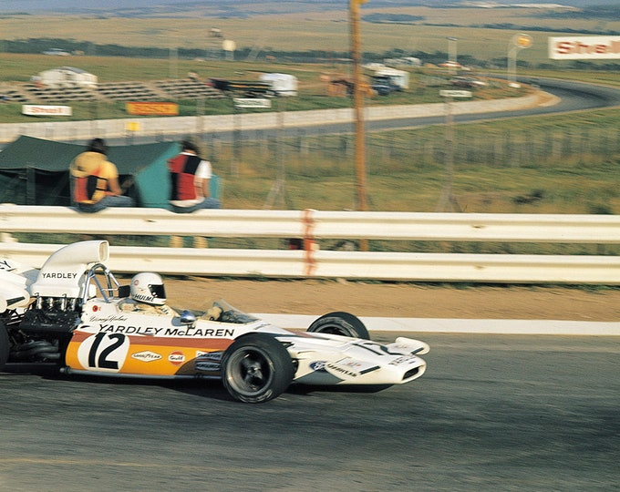 McLaren - Ford Cosworth M19 South African GP 1972 Revson or Hulme TAMEO Kits SLK034 1:43