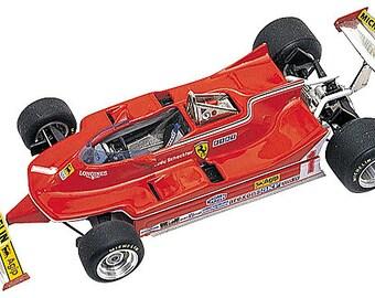 Ferrari 312 T5 F.1 Belgian GP 1980 Scheckter or Villeneuve TAMEO Kits TMK248 1:43