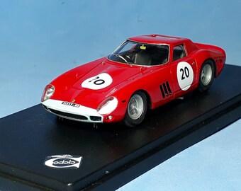 Ferrari 250 GTO 64 4399GT Maranello Conc. 500km Spa 1964 #20 Mike Parkes 1:43 Remember Models factory built