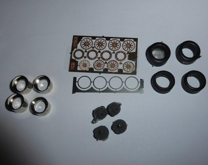high definition BBS wheel set for WSC, LMP1 racing cars etc. Le Mans Miniatures 1:43 ACW143006