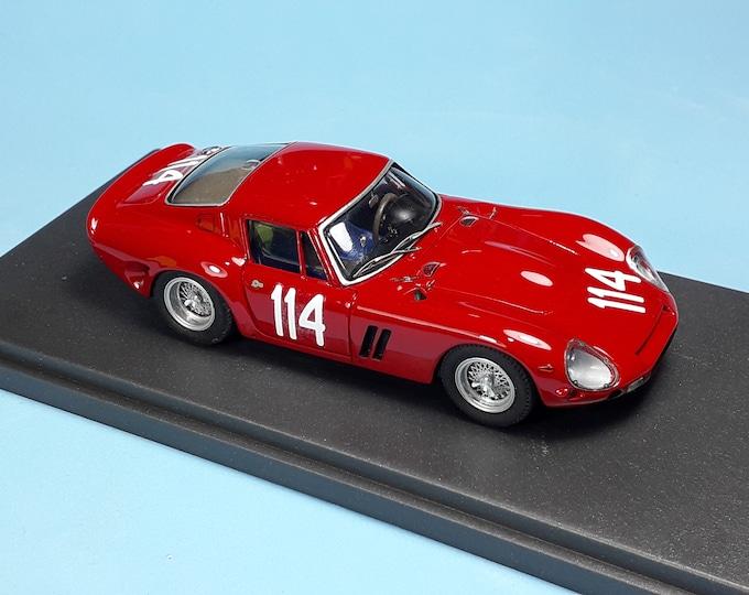 Ferrari 330 GTO 3765LM Scuderia Pegaso Targa Florio 1965 #114 Latteri/Capuano REMEMBER Models 1:43 - Factory built