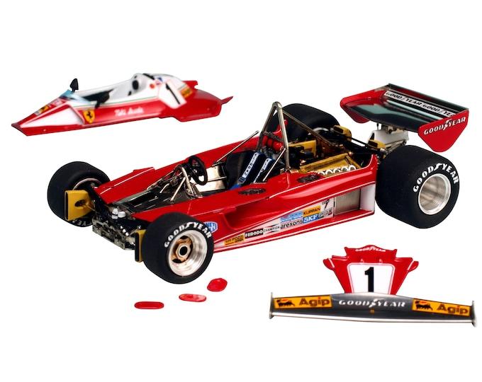 Ferrari 312 T2 Formula 1 Monaco GP 1976 Lauda or Regazzoni TAMEO Kits TMK357 1:43