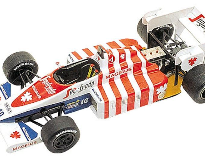 Toleman Hart TG184 F.1 Portuguese Grand Prix 1984 Ayrton Senna TAMEO Kits TMK229 1:43