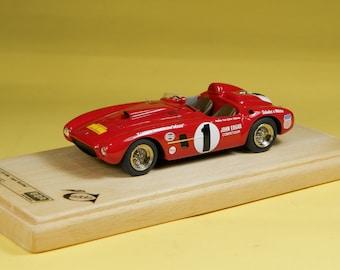 Ferrari 375 MM Carrera Panamericana 1954 Jack McAfee 1:43 BBR Model built by Remember Models studio