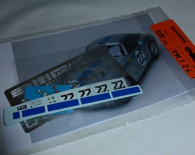 multimedia 1:43 transkit (photoetches, lights, decals etc) for Ferrari 250 GT SWB Le Mans 1960 #22 Madyero TK124