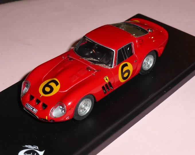 Ferrari 250 GTO 3647GT Maranello Concessionaires Goodwood Tourist Trophy 1962 #6 John Surtees 1:43 Remember Models factory built