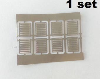 Set of 8 photo-etched grilles for 1:18, 1 24, 1 20 models