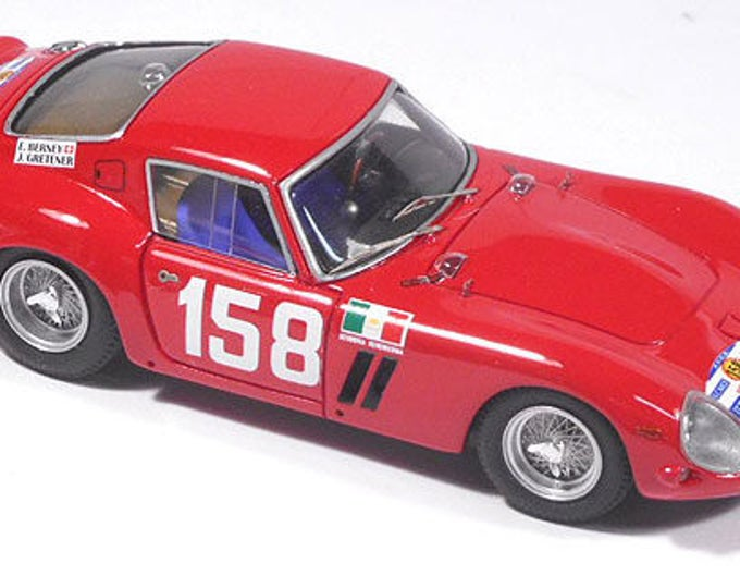 Ferrari 250 GTO 3909GT Scuderia Serenissima Tour Auto 1962 #158 Berney/Gretener Remember Models KIT 1:43