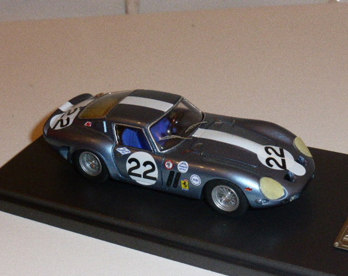 Ferrari 250 GTO 3223GT 3h Daytona Continental 1963 #22 Roberts/Cannon Remember Models kit 1:43