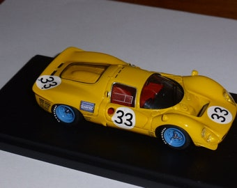 Ferrari 330 P3/4 ch.0850 Ecurie Francorchamps 24h Daytona 1967 tests # Mairesse/Beurlys Tokoloshe by Remember TOK22 1:43 factory built