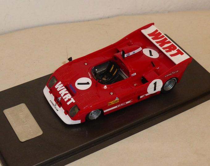 Alfa Romeo 33TT12 WKRT 1000km Dijon 1975 #1 Pescarolo/Bell Madyero by Remember 1:43 Factory built