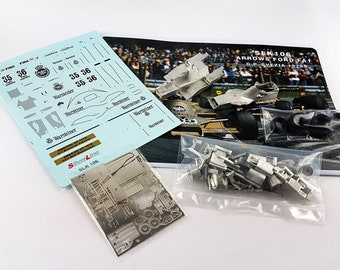 Arrows Cosworth FA1 F.1 Swedish GP 1978 Patrese or Stommelen TAMEO Kits SLK106 1:43