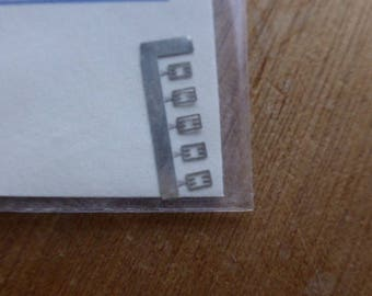 high quality photoetched gear lever selectors 5m+rm for 1:43 scale models Carrara SP32 (pack of 5 pcs)