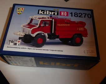 Unimog Feuerwehr Waldbrandlöschfahrzeug Kibri 18270 1:87 H0
