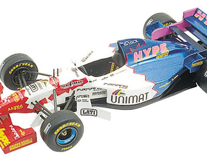 Footwork Hart FA16 F.1 Australian GP 1995 Inoue or Morbidelli TAMEO Kits TMK205 1:43