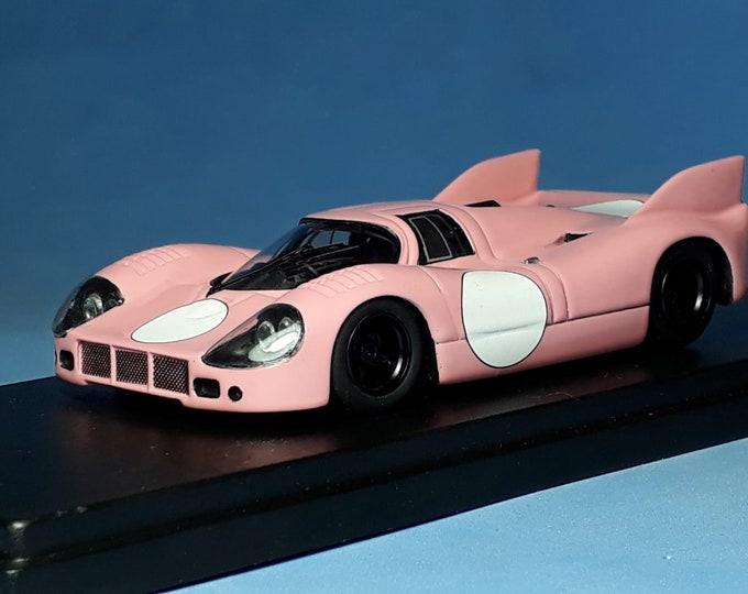 Porsche 917/20 Pink Pig Le Mans 1971 plain pink livery 1:43 Remember Models factory built