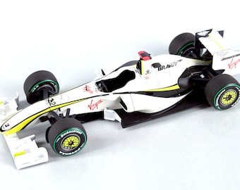 Brawn GP BGP001 Formula 1 Australian GP 2009 Button or Barrichello TAMEO Kits SLK068 1:43