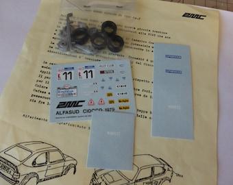 AMC transkit 1:43 for Alfa Romeo Alfasud Ti 1500 Gr2 Rally del Ciocco 1979 #11 Ormezzano/Scabini