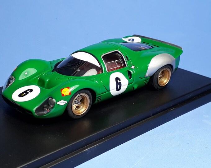 Ferrari 330 P3/4 ch.0854 1000 Paris Montlhéry 1968 #6 Piper/Attwood REMEMBER Models 1:43 Factory built