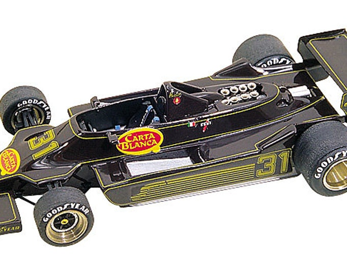 Lotus Ford Cosworth 79 F.1 Carta Blanca Brazilian GP 1979 Hector Rebaque Tameo Kits TMK176 1:43