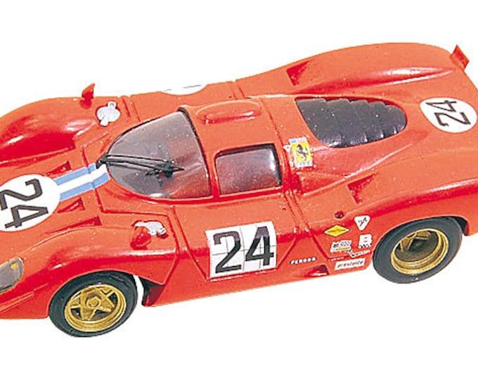 Ferrari 312 P NART 24h Daytona 1970 #24 Parkes/Posey Tameo Kits TMK084 1:43