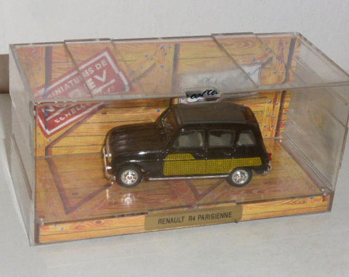 Renault 4 Parisienne by Norev Collection 1:43 mint & boxed model
