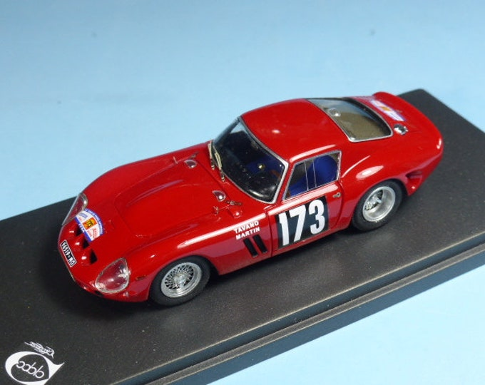 Ferrari 250 GTO 5095GT Tour Auto 1964 #173 Tavano/Martin REMEMBER Models 1:43 - Factory built