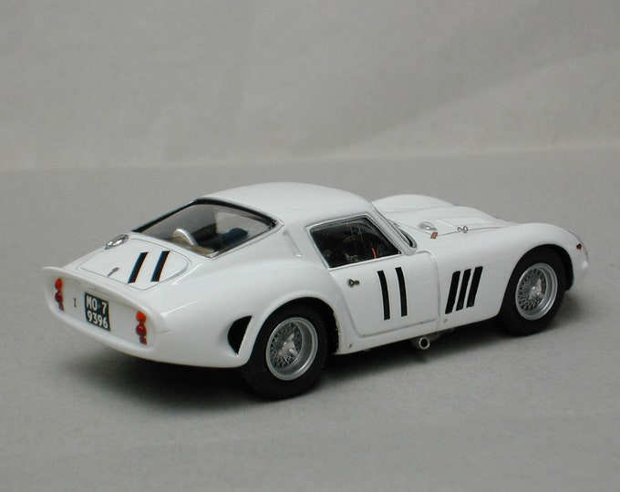 Ferrari 250 GTO 3729GT Whitsun Trophy Goodwood 1963 #11 McDowell Remember Models kit 1:43