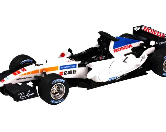 BAR - Honda 007 Formula 1 Chinese GP 2005 Jenson Button or Takuma Sato TAMEO Kits SLK026 1:43